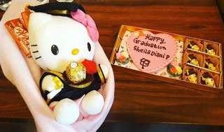 COKLAT SEKAT BLOK LOVE 18 + BUKET HK GRADUATION