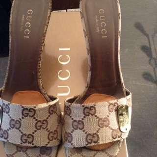 Authentic Gucci Slides.   Size 10