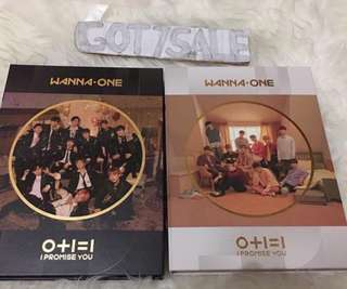 Wanna one - I promise you Album only