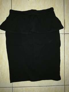 Warehouse Peplum skirt