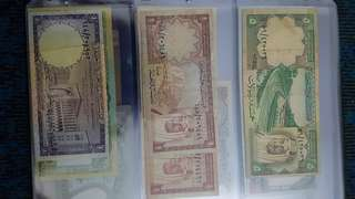 Saudi arabia lots of bill currency