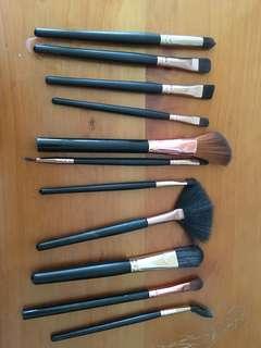 Makeup brushes x11