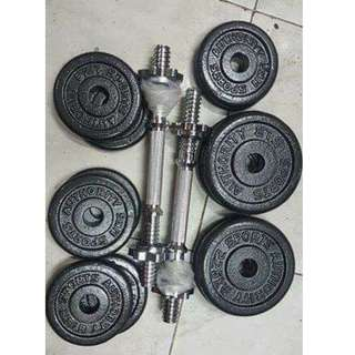 40lbs weight Dumbbell set