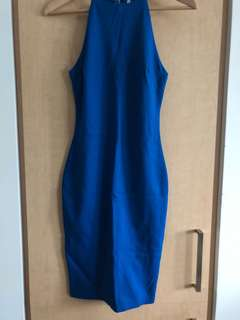 Blue M by Mendocino Bodycon Dress Size Small