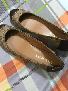 Coach printed Flats shoes