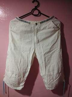 Preloved White Cargo Pants