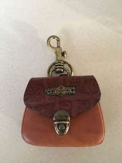 Reduced Brand New El Campero Italian leather coin purse