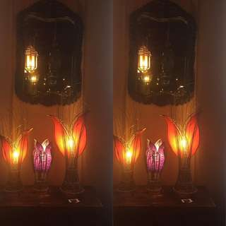 Handmade Lamps from Thailand