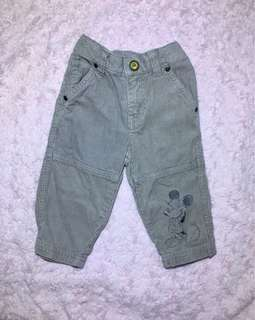 Disney baby gray pants (6-12months)
