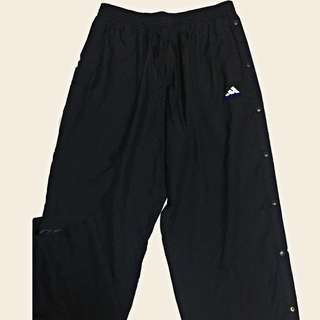 Adidas tear away track pants