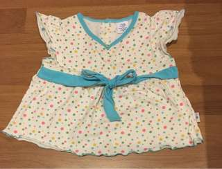 Baby Kiko dress/ Kid blouse