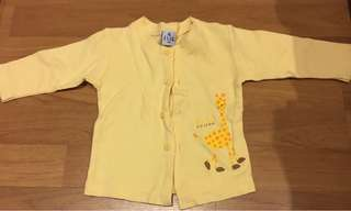 Elle Poupon long sleeves with buttons shirt