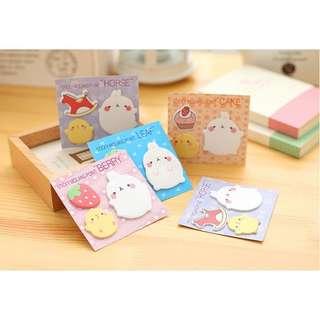 Sticky Notes rabbit set