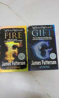 JAMES PATTERSON: The Fire & The Gift