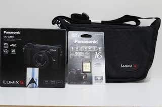 Panasonic Lumix GX9 (Black) with 12-32mm lens New