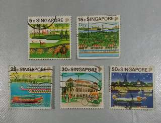 Singapore Stamps (Places of attraction) (Self Collect @Blk 113 J.E. St. 13, 600113)