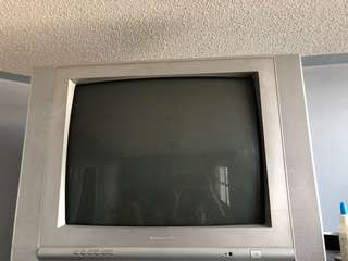 Working boxed tv