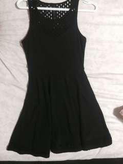 Aeropostale Black Fit and Flare Dress