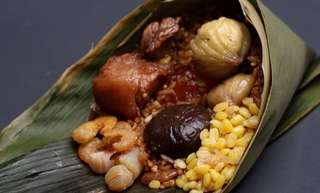 Home made Bak Zhang ( Glutinuous rice dumpling)