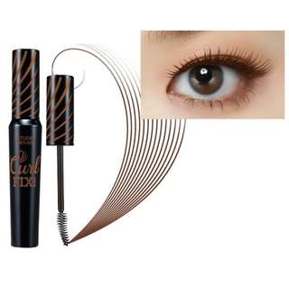 Etude House Lash Perm Curl Fix Mascara #2 Brown