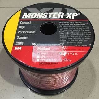 Monster XP Speaker Cable - 15meters