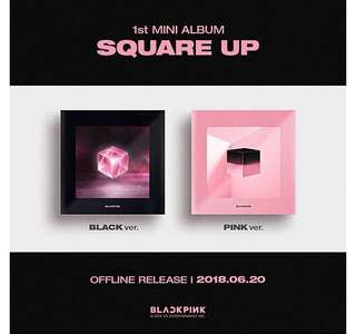 Square Up Blackpink album