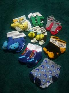 Preloved baby socks  Bundle 1