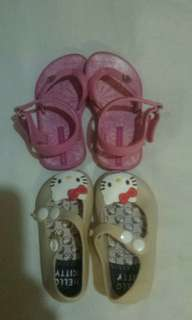Baby girl shoes authentic crocks c4 ipanema 17/18 hello kitty 19 copy
