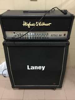 HK amp head & Laney Cab