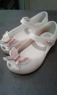 Mini Melissa shoes - size 9