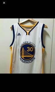 🚚 Adidas NBA 愛迪達 金州勇士隊 #30 Stephen Curry 主場白