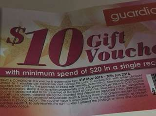 Looking for Guardian Voucher
