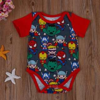(852)New Newborn Baby Kid Toddler' s Casual Short sleeve Cotton Romper Jumpsuit