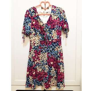 Brand New TEMT Floral Printed Dress