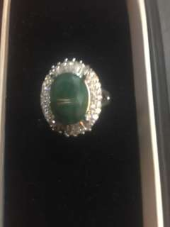 Certified Natural Emerald Ring
