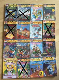 Geronimo Stilton & Thea Stilton Books