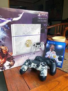PS4 Slim LIMITED EDITION with FIFA 18 & Fortnite