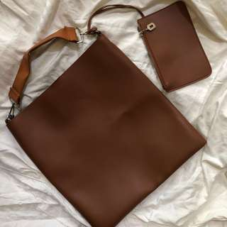 Leather bag ❤️