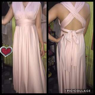 Covetz long gown ( for sale )