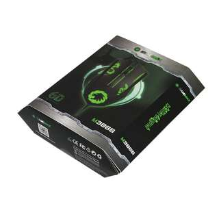 🚚 GAMEMAX M386B Laser Gaming Mouse 4 colour LED Backlight with Breathing