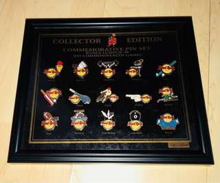 Hard Rock Collectible Pins - 16th Commonwealth Games