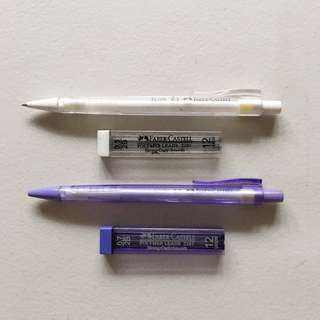 SET: FABER CASTELL Mechanical Pencil