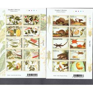 2004 - 02   William Farquhar Collection Plants & Fruits  Animals & Reptiles ms