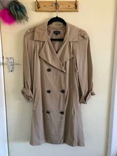 TOPSHOP Light Trench