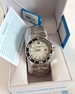 TechnoMarine Steel Watch (Unisex)