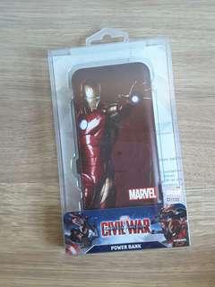 Marvel x 渣打 iron man power bank 差電器 尿袋 8000mah
