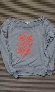 🚚 S) Cotton on  圖騰民族風休閒寬鬆長袖上衣