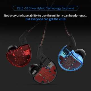 KZ ZS10 (Gifts Included+Warranty+Postage)