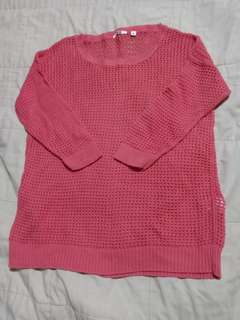 Preloved-Uniqlo Knitted Blouse