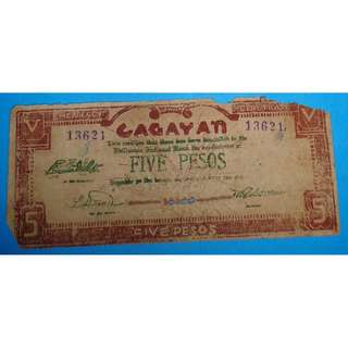 P5 Emergency Money Cagayan Issue